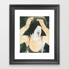 clown laid bare #3 Framed Art Print