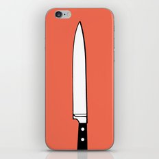THE KNIFE iPhone & iPod Skin