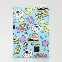 Cat Jams Stationery Cards