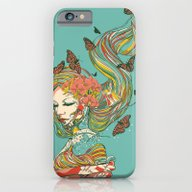 iPhone & iPod Case featuring Geisha by Huebucket