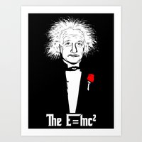 The relativity father Art Print