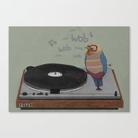 Dub-bird Canvas Print