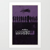 Mass Effect 2 Art Print