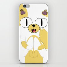 CAKE THE CAT iPhone & iPod Skin