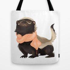 Honey Badger Don't Care Tote Bag