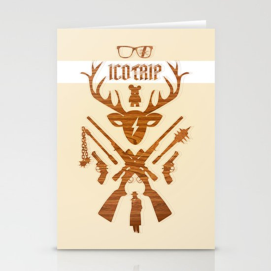 Inside icotrip #1 Stationery Card