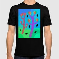 Happy Mens Fitted Tee Black SMALL