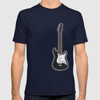 Rock my blue! Mens Fitted Tee Navy SMALL
