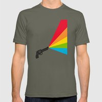 Colour Explosion Mens Fitted Tee Lieutenant SMALL