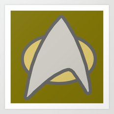 Star Trek, Communicator  Art Print