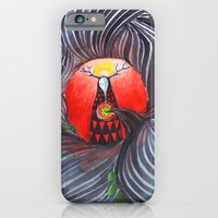 iPhone & iPod Case featuring Evil by Valentina Gruer