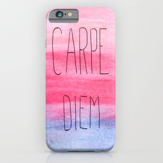 Seize The Day iPhone & iPod Case