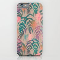 iPhone & iPod Case featuring New Palm Beach - Spring by Schatzi Brown