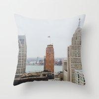 Architectual Variety - D… Throw Pillow