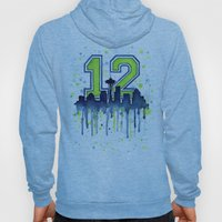 Seahawks 12th Man Fan Ar… Hoody