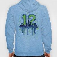 Seahawks 12th Man Fan Ar… Hoody