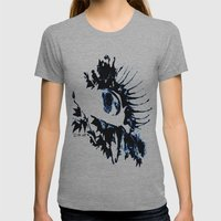 Tears Womens Fitted Tee Athletic Grey SMALL