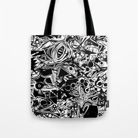 Black/White #1 Tote Bag