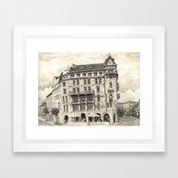 Gothenburg Framed Art Print