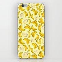 Banana Fruity Pattern  iPhone & iPod Skin