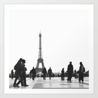 Trocadero Paris Art Print