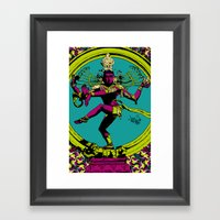 Natraj Dance Framed Art Print