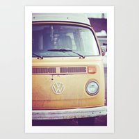 vw Art Prints featuring vw by shannonblue