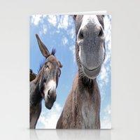 Funny Donkey Stationery Cards