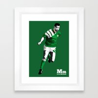 M is for McGrath Framed Art Print
