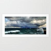 'Storm' Art Print