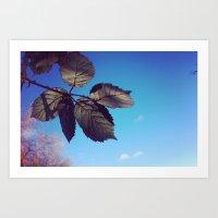 Leaves-Autumn Art Print