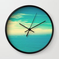 Dreamy Sea  Wall Clock