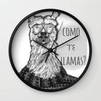 Hola! Wall Clock