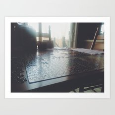 Life is a Puzzle Art Print