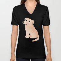 Golden Retriever - Cute Dog Series Unisex V-Neck