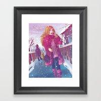 That Winter Day Framed Art Print