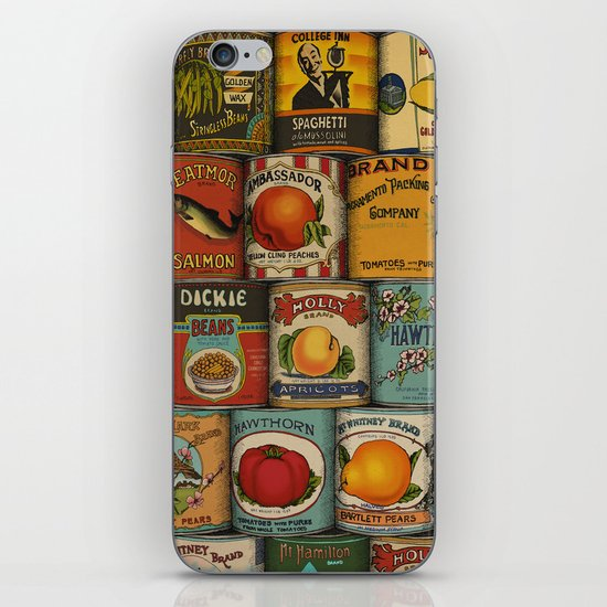 Canned in the USA iPhone & iPod Skin