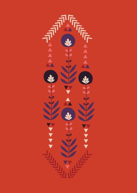 Flora Nativa Canvas Print