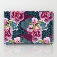Modern Baroque Rose iPad Case