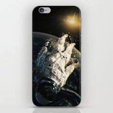 Floating In The Abyss iPhone & iPod Skin