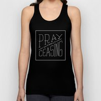 Pray Without Ceasing Unisex Tank Top