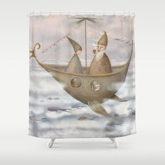 A Mystical Voyage Shower Curtain