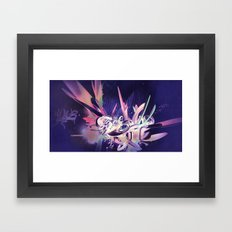 Defff (Noche) Framed Art Print