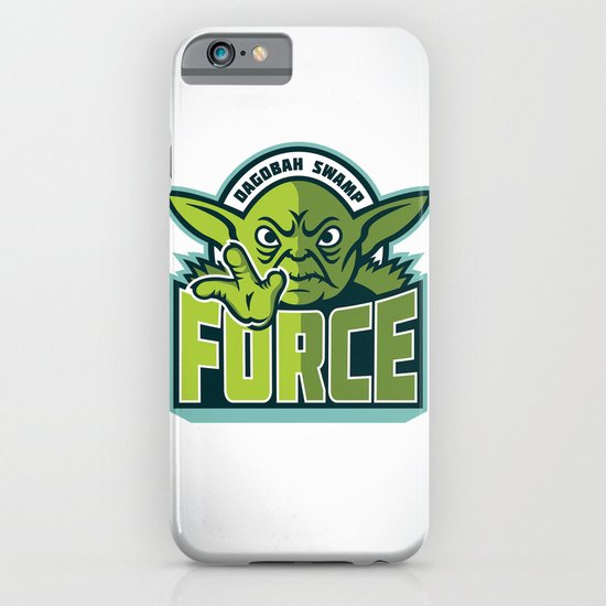Dagobah Swamp Force iPhone & iPod Case