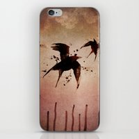 On your fears,  ... swallow them.   iPhone & iPod Skin