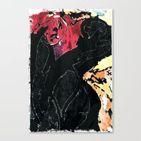 I am Angry with You Canvas Print