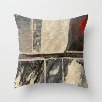 Textured Marble Throw Pillow