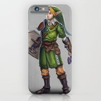 iPhone & iPod Case featuring The Legend of Zelda: Link by Bendragon