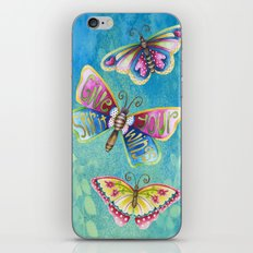 Give Your Spirit Wings  iPhone & iPod Skin