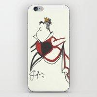 Queen Of Hearts Zen Tang… iPhone & iPod Skin
